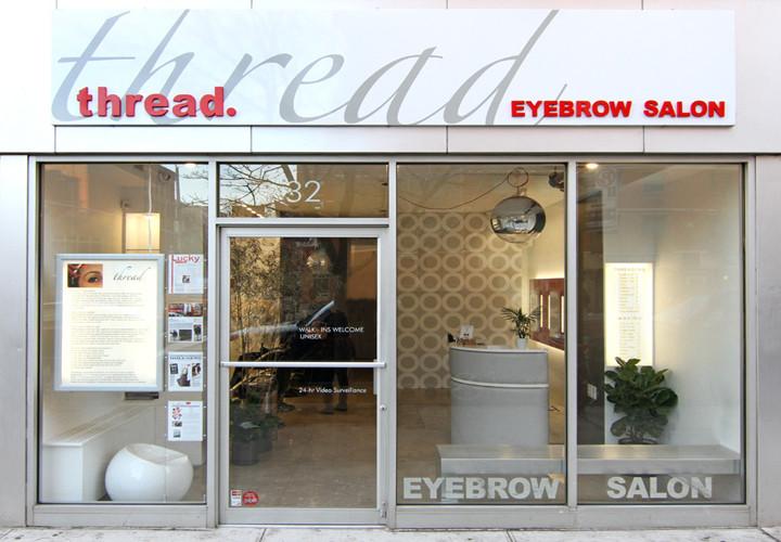 threading salon NYC Astor Place