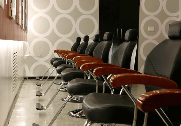 threading salon NYC Saloon Chairs